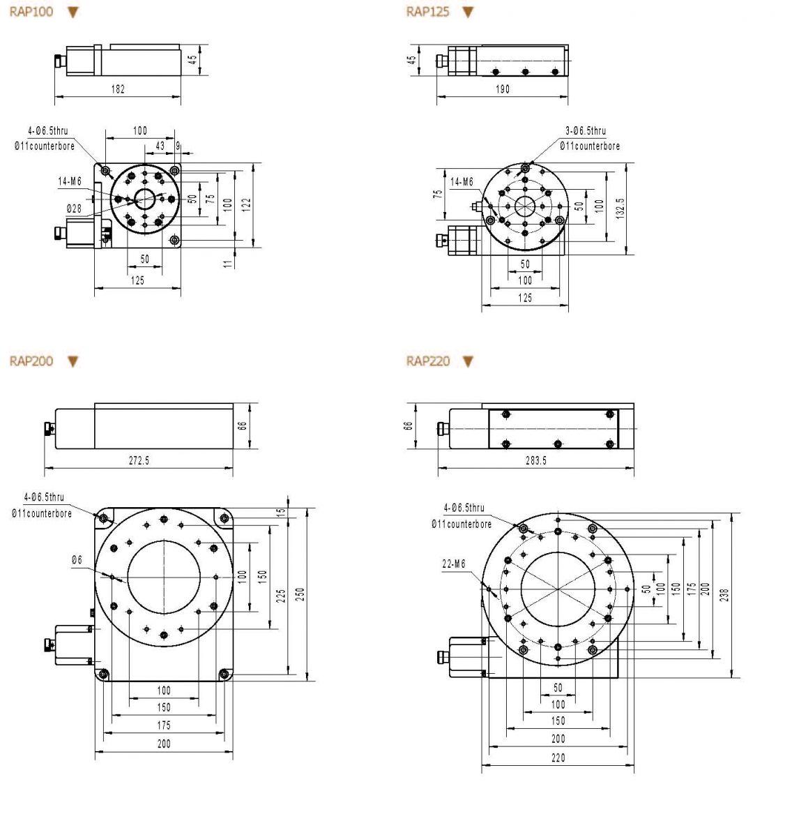 Precision Motorized Rotation Stages Zolix Instruments Co Ltd