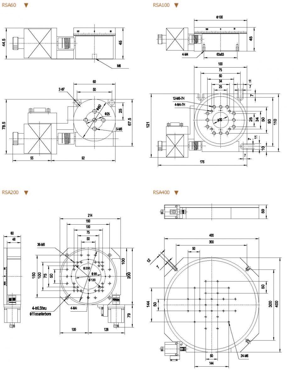 Motorized Rotation Stages Zolix Instruments Co Ltd